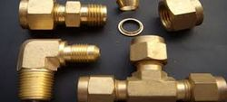 COPPER NICKEL COMPRESSION FITTINGS