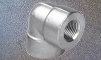 StainlessSteel Forged Threaded Elbow