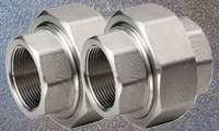 Stainless Steel Threaded Unions