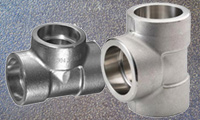 Stainless Steel Forged Socket Weld Equal & Unequal Tee